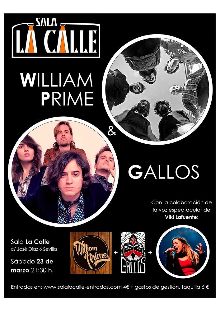 GALLOS + WILLIAM PRIME
