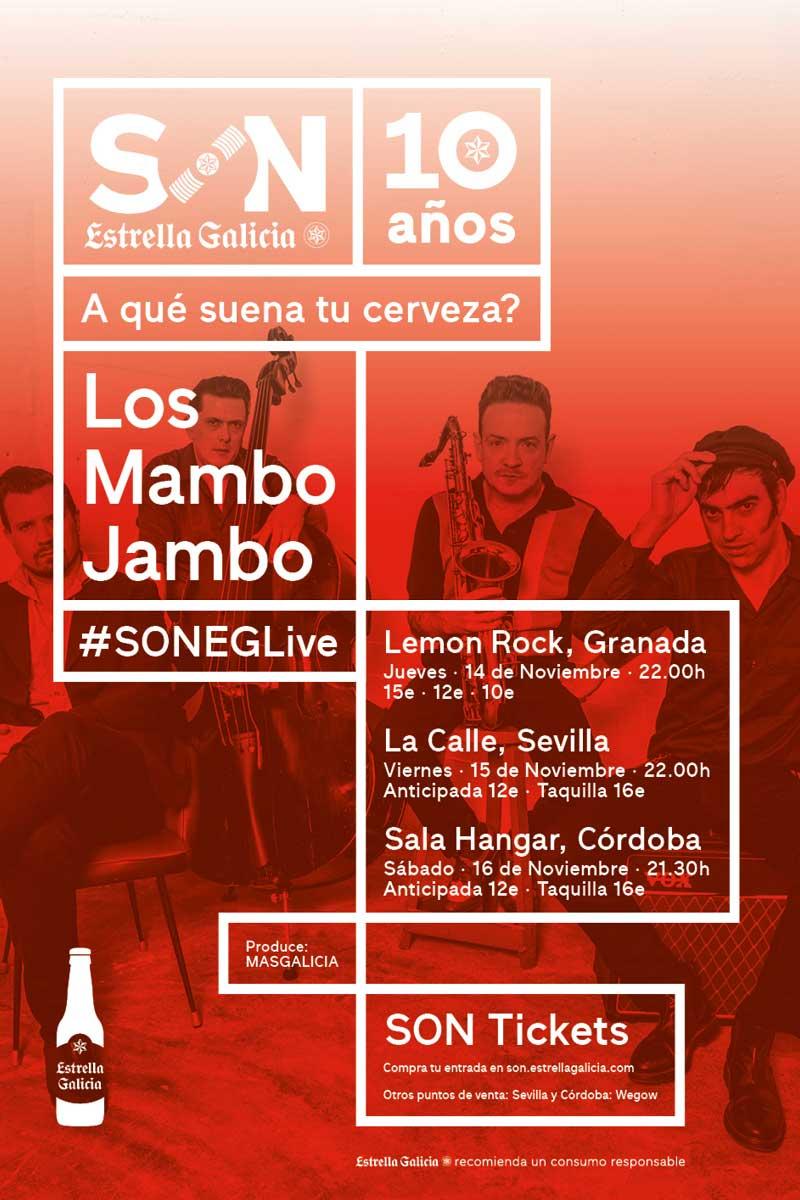 SON Estrella Galicia – Los Mambo Jambo