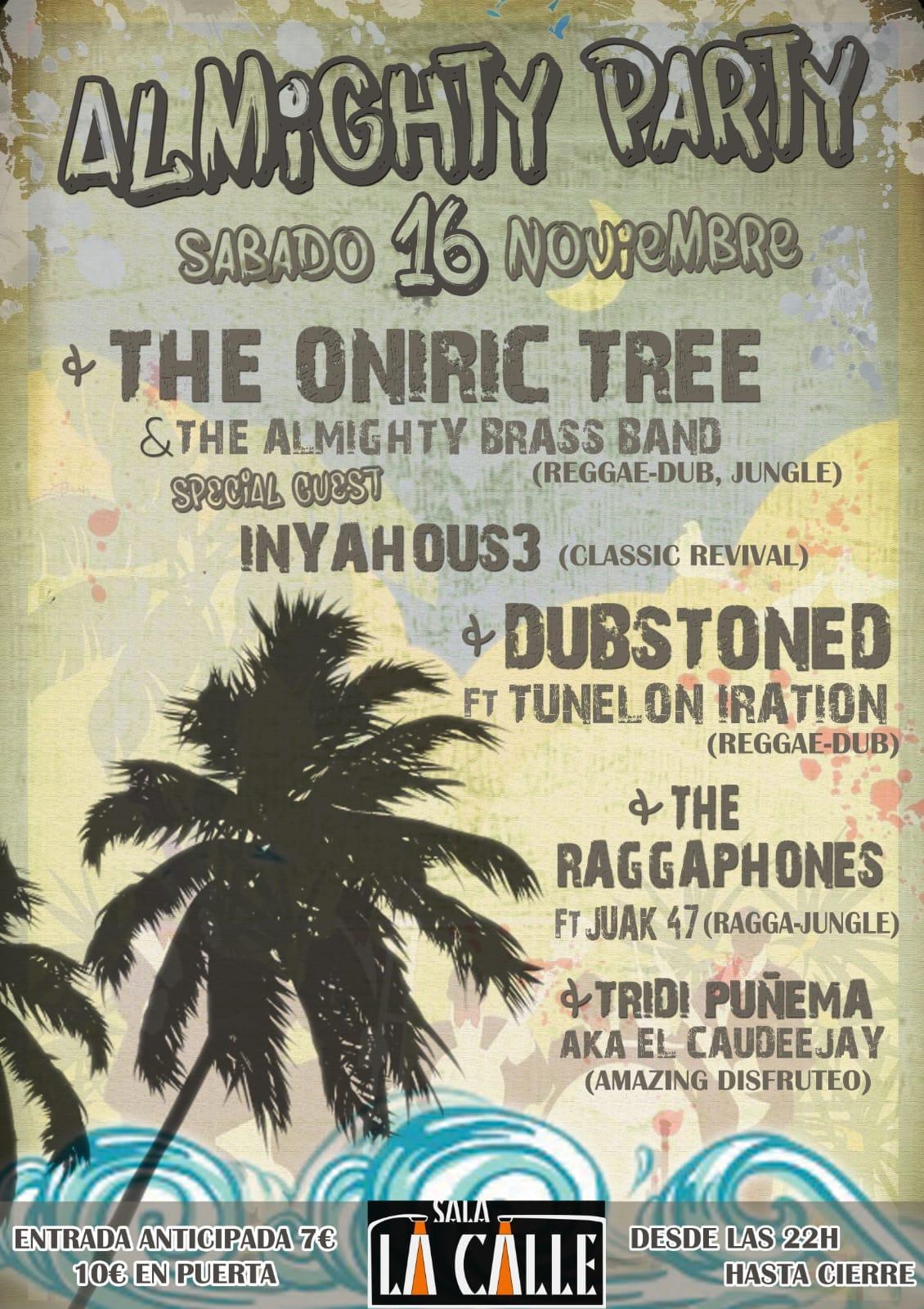 Almighty Party – Oniric Tree + Invitados